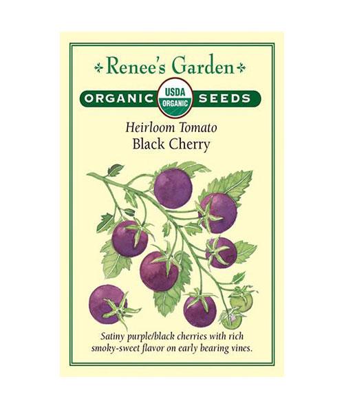 Heirloom Tomato Black Cherry
