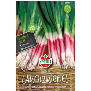 Spring Onions 'Red Toga' - My Organic World