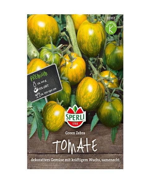 طماطم زيبرا الخضراء