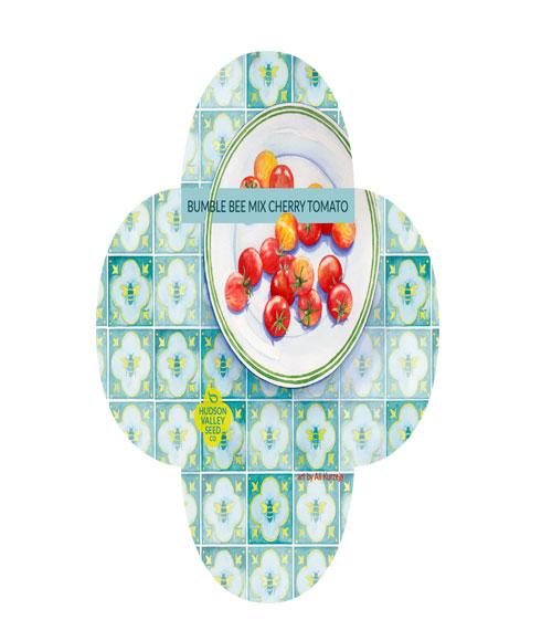 طماطم شيري عضوي متنوع بمبل بيي